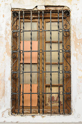 Vintage Window Poster by Tetyana Kokhanets