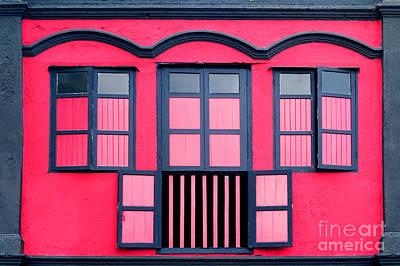 Vintage Windows Poster by William Voon