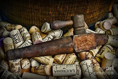 Vintage Wooden Barrel Tap Poster by Paul Ward