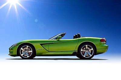 Viper Roadster Poster by Douglas Pittman