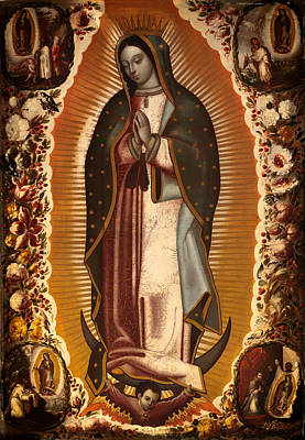 Virgin Of Guadalupe Poster by Mountain Dreams