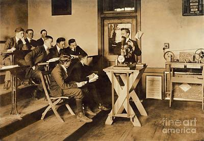 Vocational Teaching, 1916 Poster by Library Of Congress