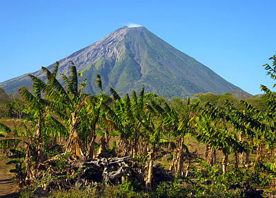 Volcan Concepcion Nicaragua Poster by Kurt Van Wagner