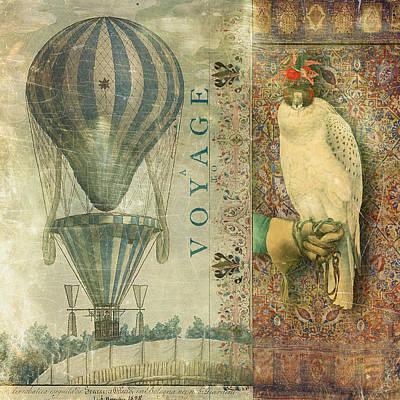 Voyage Poster by Aimee Stewart