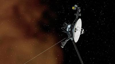 Voyager 1 Poster by Nasa/jpl-caltech