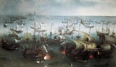 Vroom, Hendrick-cornelisz 1566-1640 Poster by Everett