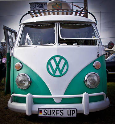 Vw Bus Poster by Jason Browning