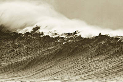 Waimea Wall Poster by Sean Davey