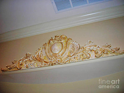 Wall Applique Poster by Lizi Beard-Ward