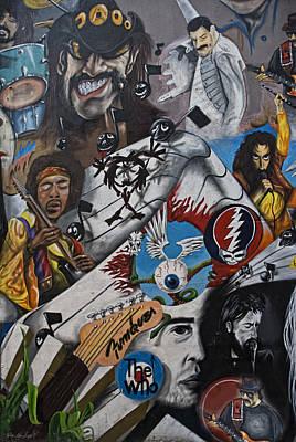 Wall-art 001 Poster by Joachim G Pinkawa
