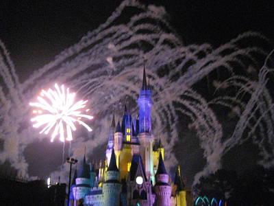 Walt Disney World Resort - Magic Kingdom - 121266 Poster by DC Photographer