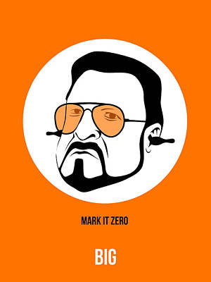 Walter Sobchak Poster 3 Poster by Naxart Studio
