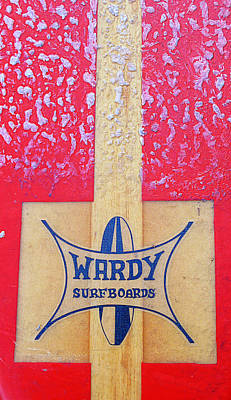 Wardy Surfboards Poster by Ron Regalado