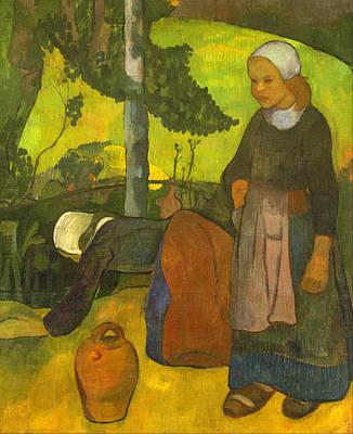 Washerwomen Poster by Paul Serusier