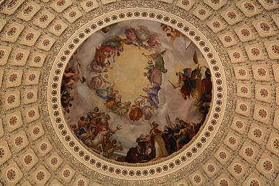 Washington Dc - Us Capitol - 011323 Poster by DC Photographer