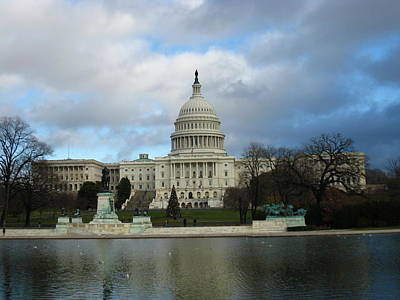 Washington Dc - Us Capitol - 12122 Poster by DC Photographer