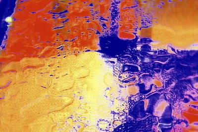 Water Blocks Poster by Deborah  Crew-Johnson