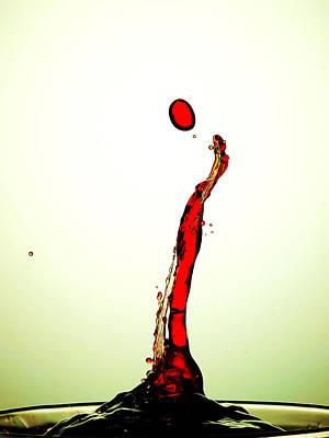 Water Drop Liquid Art 19 Poster by Paul Ge