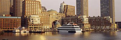 Waterfront, Boston, Massachusetts, Usa Poster by Panoramic Images