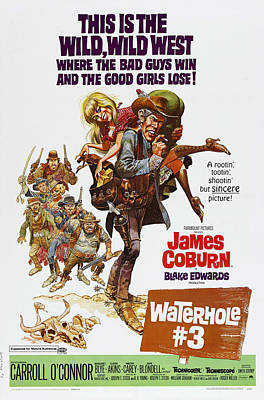 Waterhole 3, Us Poster Art, From Left Poster by Everett