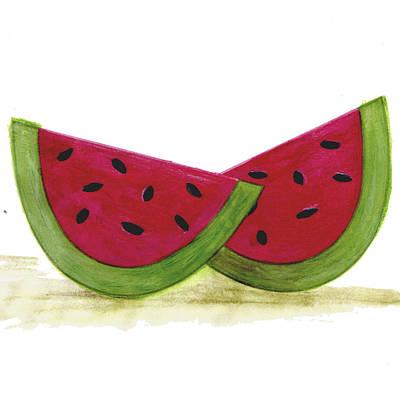 Watermelon Poster by Esteban Studio