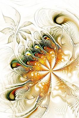 Waves And Pearls Poster by Anastasiya Malakhova