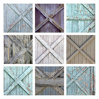 Weathered Paint Poster by Art Block Collections