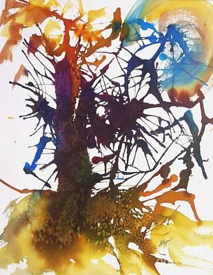 Web Of Life Poster by Ellen Levinson