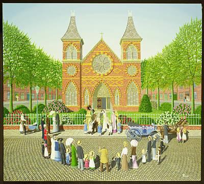 Wedding Ring Poster by Peter Szumowski