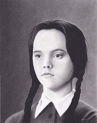 Wednesday Addams Poster by Brittni DeWeese