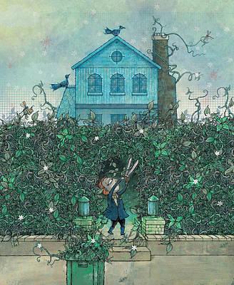 Weeding Poster by Dennis Wunsch