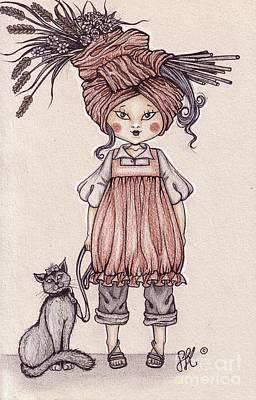 Weird Hat Poster by Snezana Kragulj