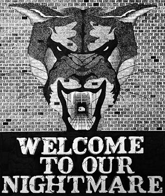 Welcome Poster by Daniel P Cronin