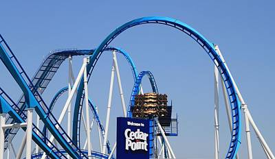 Welcome To Cedar Point Poster by Dan Sproul