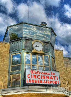 Welcome To Cincinnati 2 Poster by Mel Steinhauer