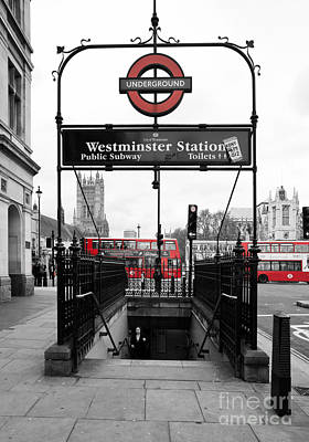 Welcome To Westminster Poster by Maria Feklistova