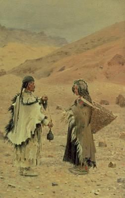 West Tibetans, 1875 Oil On Canvas Poster by Piotr Petrovitch Weretshchagin
