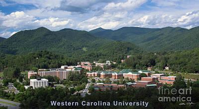 Western Carolina University Summer Poster by Matthew Turlington