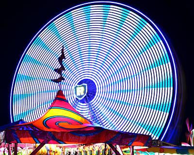 Wheel Of Light Work B Poster by David Lee Thompson