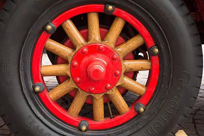 Wheel With Spokes Poster by Matthias Hauser