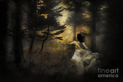 When The Forest Calls Poster by Theresa Tahara