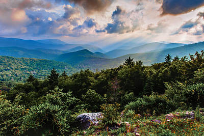 Whispered Light Poster by Rob Travis