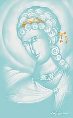 White Angel Poster by Julia Bridget Hayes