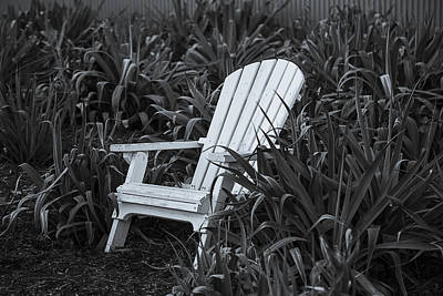 White Chair Poster by Garry Gay