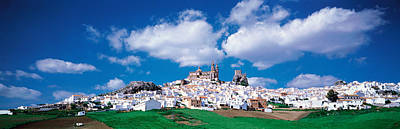 White Houses Andalusia Olvera Spain Poster by Panoramic Images