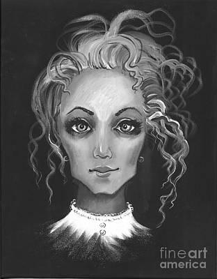 White Lady Poster by Margaryta Yermolayeva