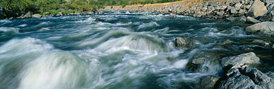 White Water On Payette River In Nez Poster by Panoramic Images