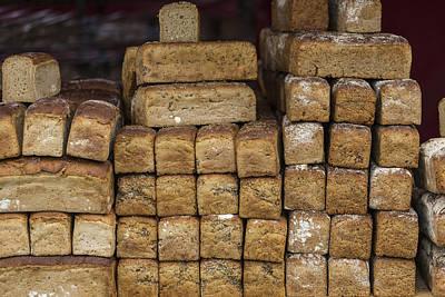 Whole Grain Loaves Of Bread Poster by Krzysztof Hanusiak