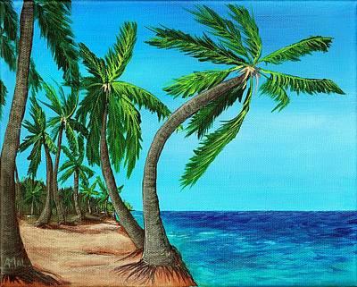 Wild Beach Poster by Anastasiya Malakhova