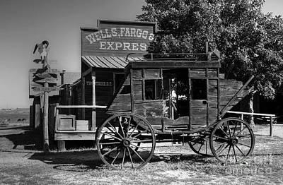 Wild West Stagecoach Poster by Mel Steinhauer